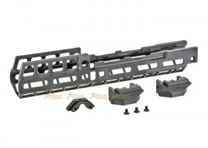 RGW RSR Style AK M-LOK 10 Inch Handguard Rail for GHK / LCT AK Series ( Black )