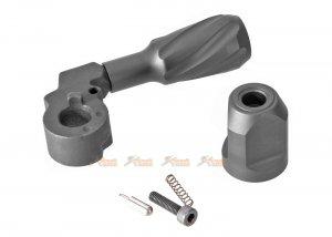 maple leaf vsr full steel enlarge bolt handle for marui vsr-10 series black