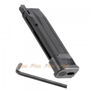VFC 25rds Co2 Magazine for SIG AIR Porforce P320 M17 Airsoft GBB (Black)