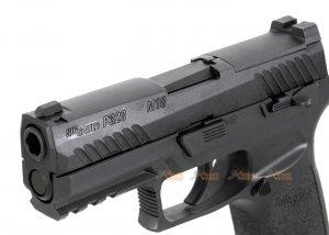 sig air p320 m18 6mm gas version gbb pistol black