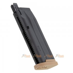 VFC / SIG AIR P320 M18 21rds Magazine for M17 M18 GBB  (Licensed by SIG Sauer) (by VFC) - TAN