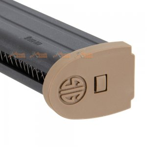 vfc sig air 21rds magazine p320 m17 gbb licensed by sig sauer by vfc tan