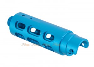 RGW CNC outer barrel Type B Oval Cut AAP-01 (Blue)