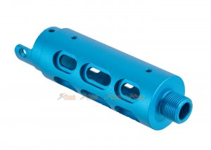rgw cnc outer barrel type b oval cut app-01 blue