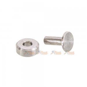 IRON AIRSOFT steel hammer rotor and pin set for Marui M4 MWS GBB