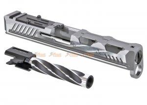 EMG Strike Industries Licensed ARK-17 Slide for Umarex / VFC G17 Gen.4 GBB - Silver