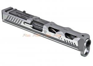 emg strike industries licensed ark17 slide umarex vfc g17 gen4 gbb silver