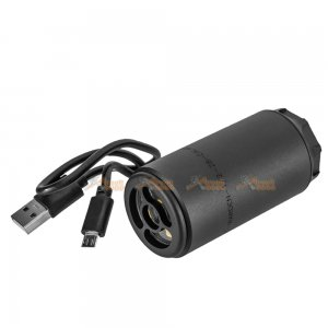 RGW SF Threaded Warden Tracer Unit with Flame Effect Unit 14mm CCW (Black)