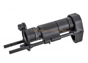 Army Force stock CNC Aluminum for CYMA MP5K AEG (Black)