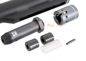 g&p gbb roller bolt with marui m4 mws 5 position buffer tube set