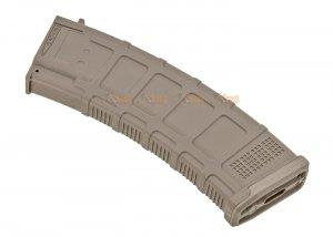 ARCTURUS DMAG 74 30/130 rounds magazine for AK AEG (Color: FDE)
