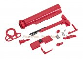 CYMA Color-Coordinated Accessory Kit for M4 AEG (Red)