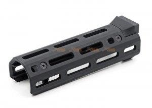 Hephaestus AKS-74U M-LOK Handguard for GHK / LCT AK Series (Type III Hard-Coat Anodized)