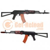 APS AK74 Real Wood & Side Folding Stock EBB Rifle (ASK204)