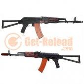 APS AK74 Real Wood & Side Folding Stock EBB Rifle (ASK204)