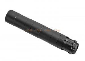 rgw obsidian 9mm mp5 dummy silencer with frame tracer for umarex vfc mp5a5 gbbr black