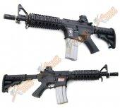 APS M4 CQB Electric Blowback Rifle (ASR102)
