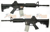 APS M4 RIS Electric Blowback Rifle (ASR104)