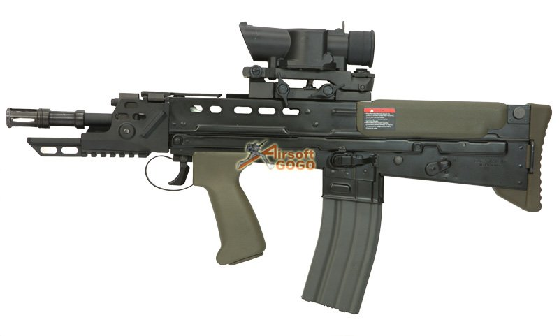 Gg Full Metal L85 Afv Electric Blowback Airsoft Airsoftgogo