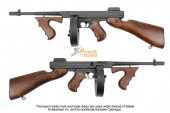 King Arms Full Metal & Real wood Thompson M1928 Chicago AEG