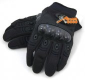 Assault Gloves (Black Colour) for Airsoft -L size