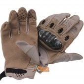 Assault Gloves (Brown Colour) for Airsoft -L size