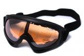 Airsoft UV-X400 Wind Dust Tactical Goggle Glasses Orange