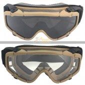 FMA Ballistic Goggle DE
