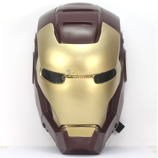 Iron man airsoft masks