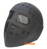 Steel Mesh Deluxe Full Face Mask (Black)