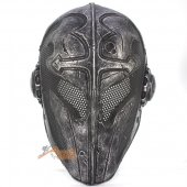 Temple Knight Protective Helmet Mask for Airsoft Paintball Cospl