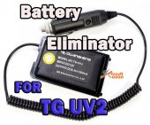 QUENSHENG TG-UV2 Radio Car Battery Eliminator Adaptor