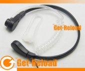 Throat-Vibration Speaker/Mic for Motorola Radio -2 Pin