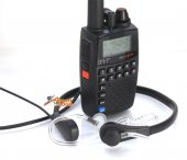 TYT TH-UV3R Dual Band Radio with + Throat-Vibration Speaker/Mic