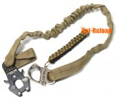 Element Nylon Lanyard QD Tan Frog Sling